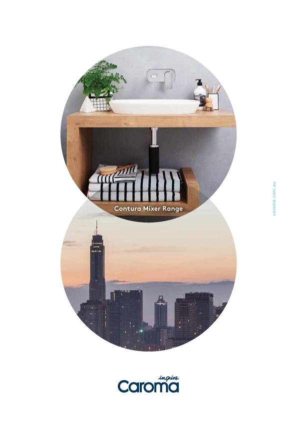 View Brochure: Caroma Contura Mixer Range