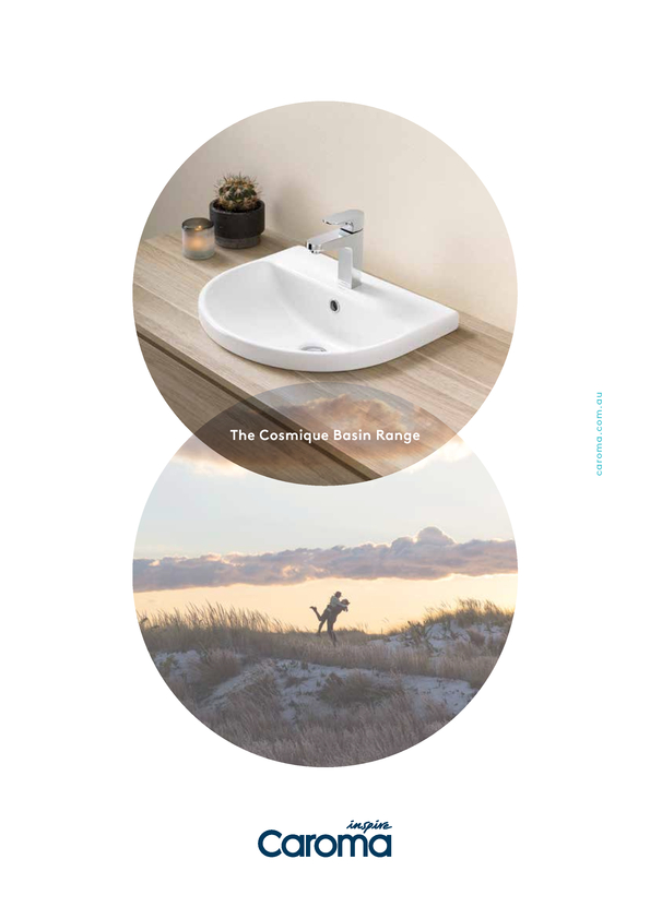 View Brochure: Caroma Cosmique Basin Range