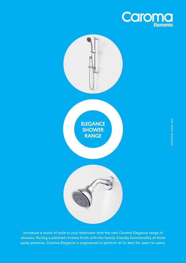 View Brochure: Caroma Elegance Shower Range