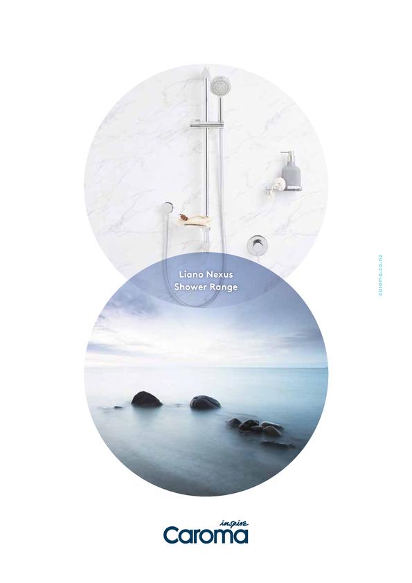 View Brochure: Caroma Liano Nexus Shower Range