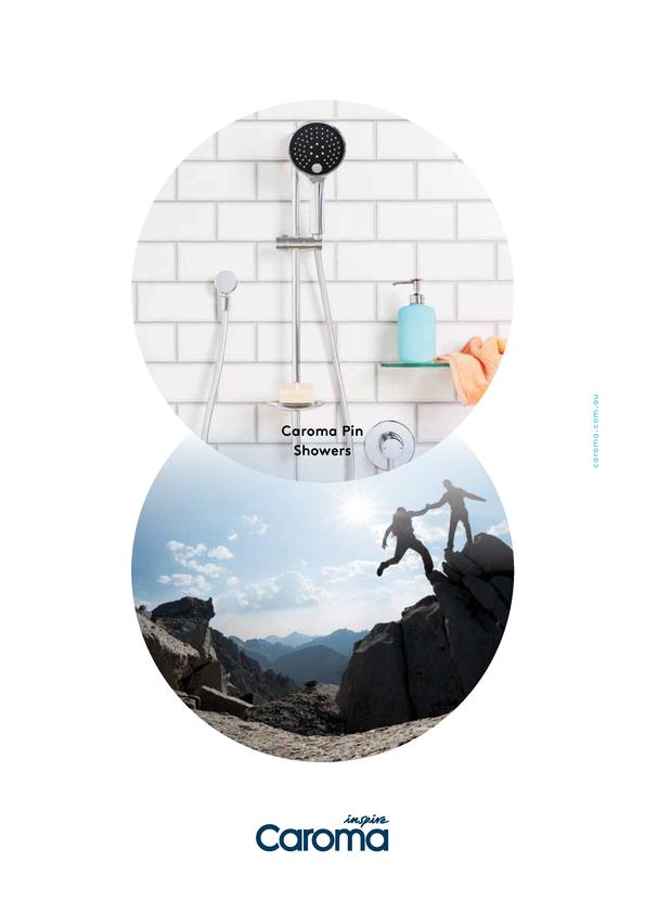 View Brochure: Caroma Pin Shower Range