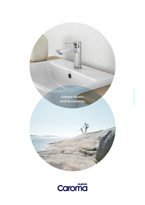 Browse Brochure: Caroma Urbane Mixers and Accessories
