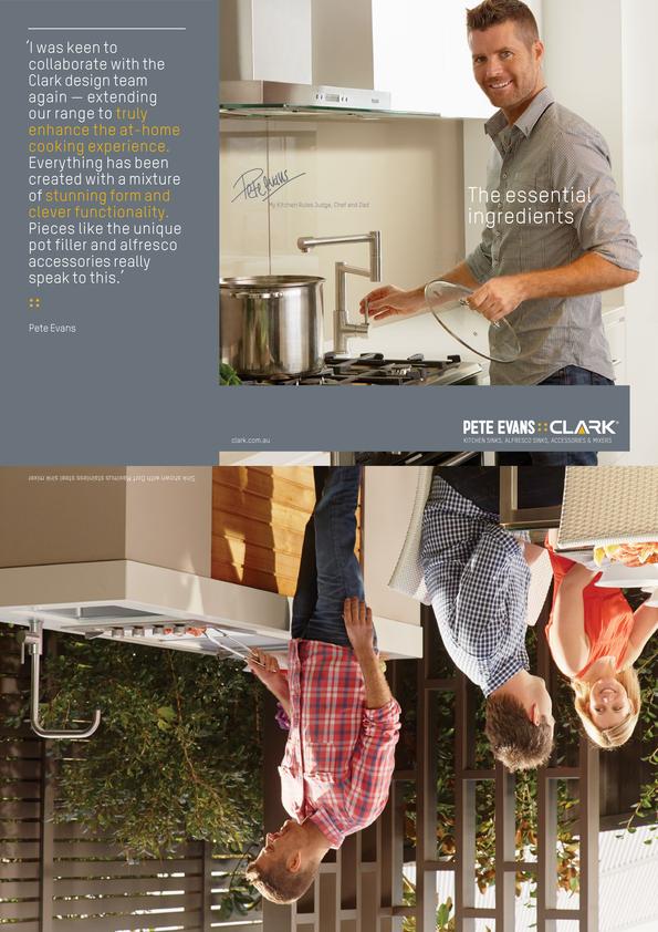 View Brochure: Clark Pete Evans Complete Range