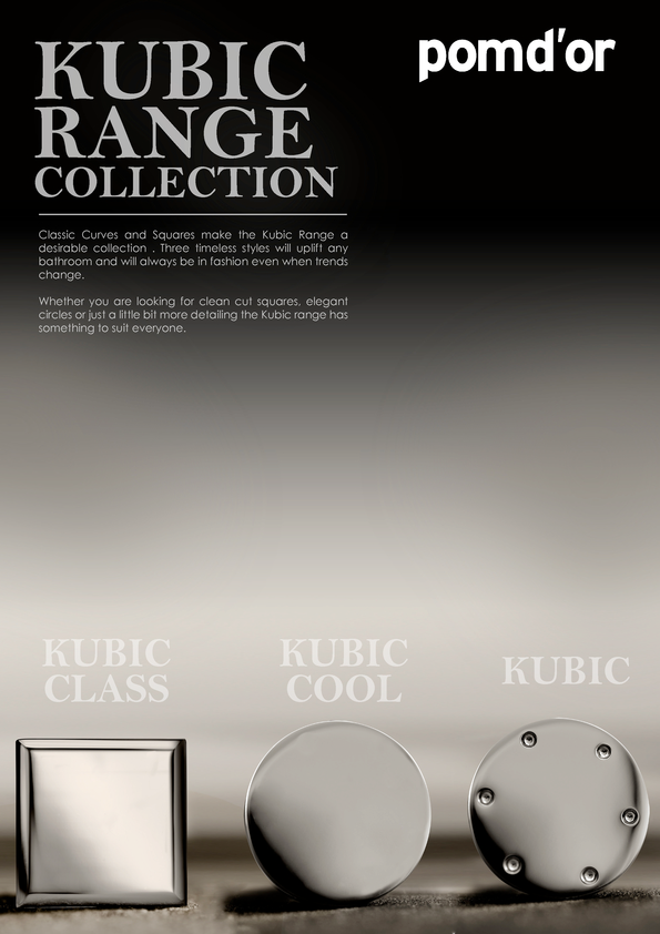 Browse Brochure: Pomd'or Kubic Accessories