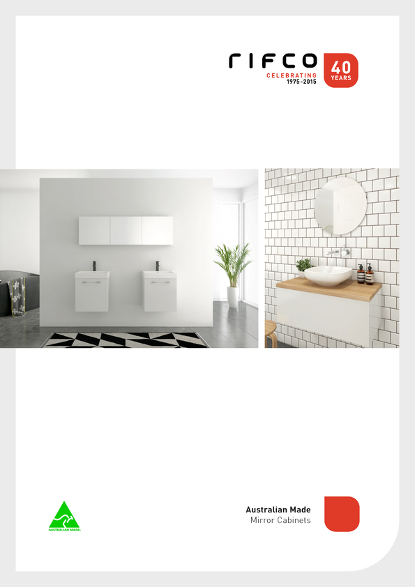 Browse Brochure: Rifco Shaving Cabinets