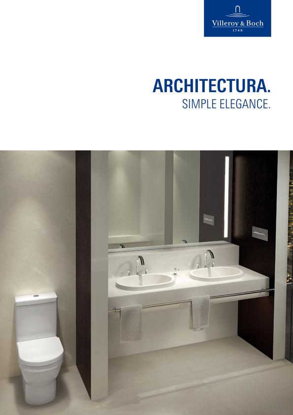 View Brochure: Villeroy & Boch Architectura 2014