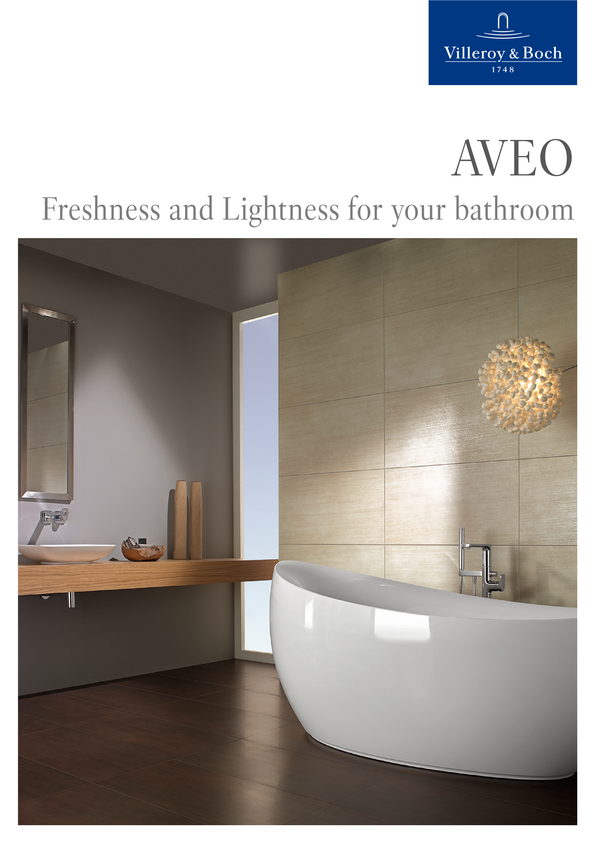 View Brochure: Villeroy & Boch Aveo Bath Collection