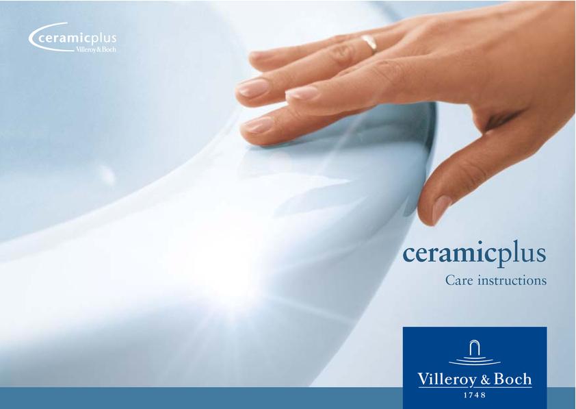 View Brochure: Villeroy & Boch Ceramic Plus