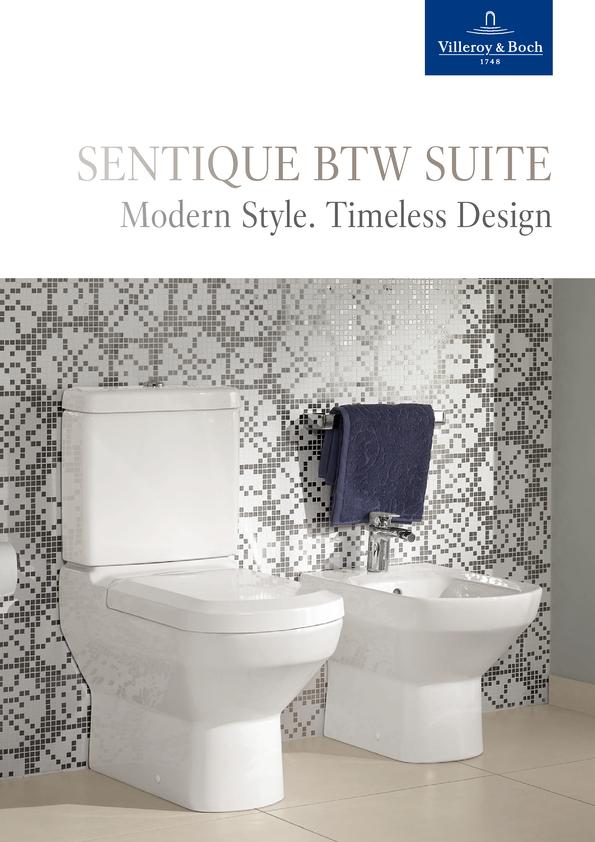 View Brochure: Villeroy & Boch Sentique BTW Toilet