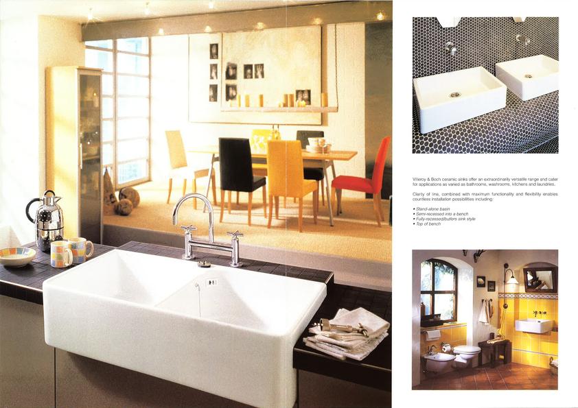 Browse Brochure: Villeroy & Boch Sinks