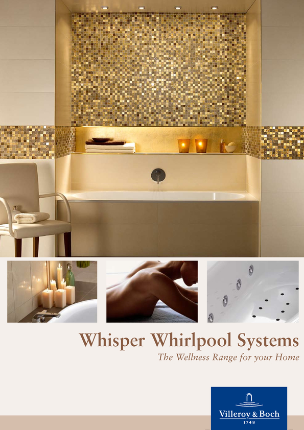 View Brochure: Villeroy & Boch Whisper Whilrpool