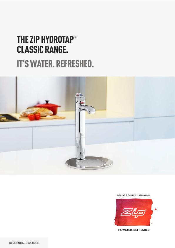 View Brochure: Zip Home Classic Tap