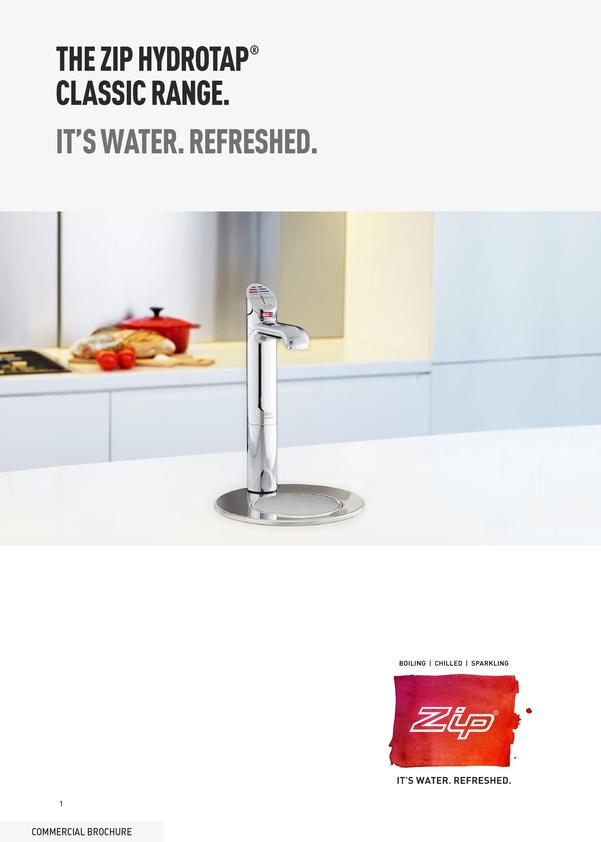 Browse Brochure: Zip Office Classic Tap