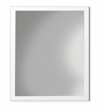 ADP Glass Frame Flush Mirror with clear or frosted glass