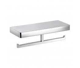 Arcisan Eneo Double Toilet Roll Holder With Shelf