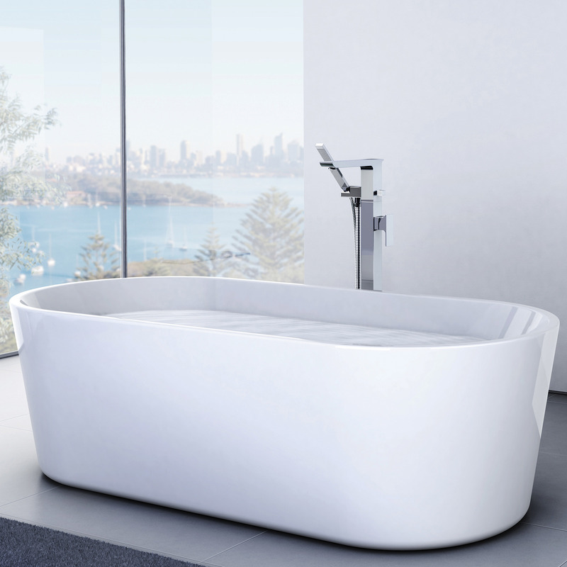 Caroma Aura 1600 or 1800 Freestanding Bath