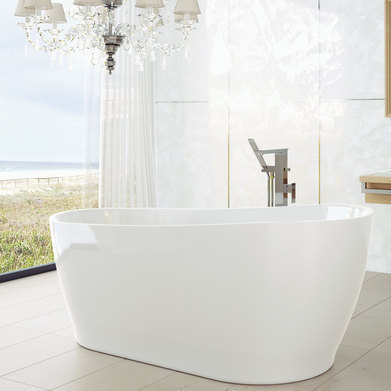 View Photo: Caroma Blanc 1700 Freestanding Bath