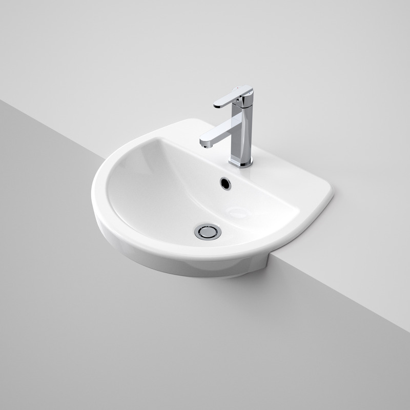 View Photo: Caroma Cosmo Semi Recessed Basin 1TH