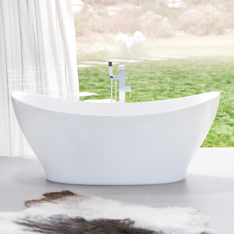 Caroma Cupid 1700 Freestanding Bath