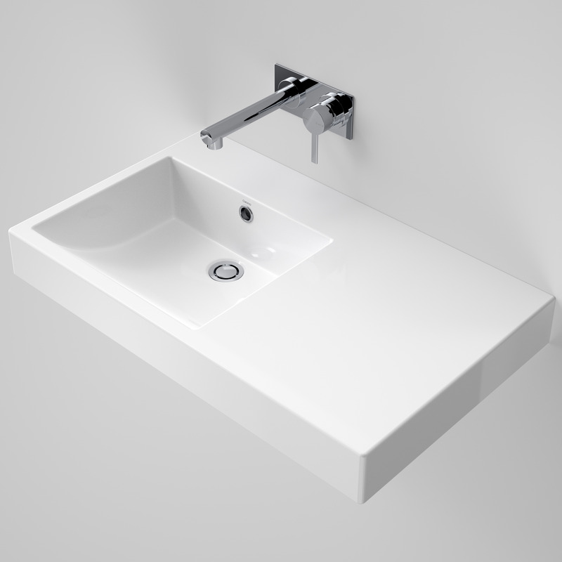 Caroma Liano Nexus 750 Wall Basin RH Shelf