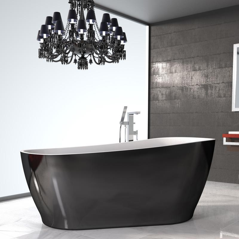 Caroma Noir 1700 Freestanding Bath
