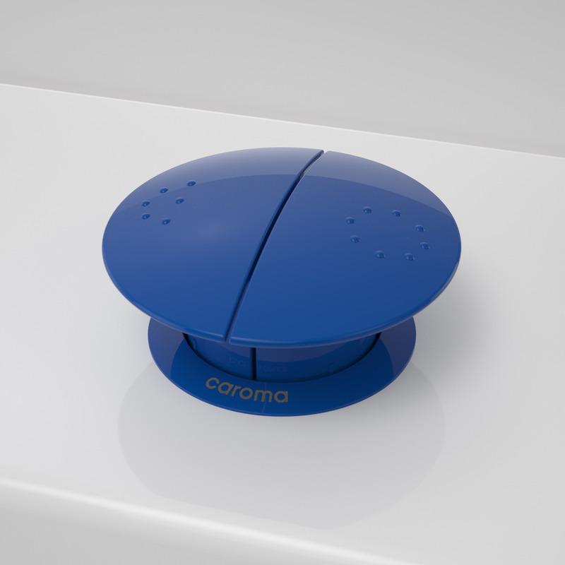 Caroma Round Care Button-sorento blue