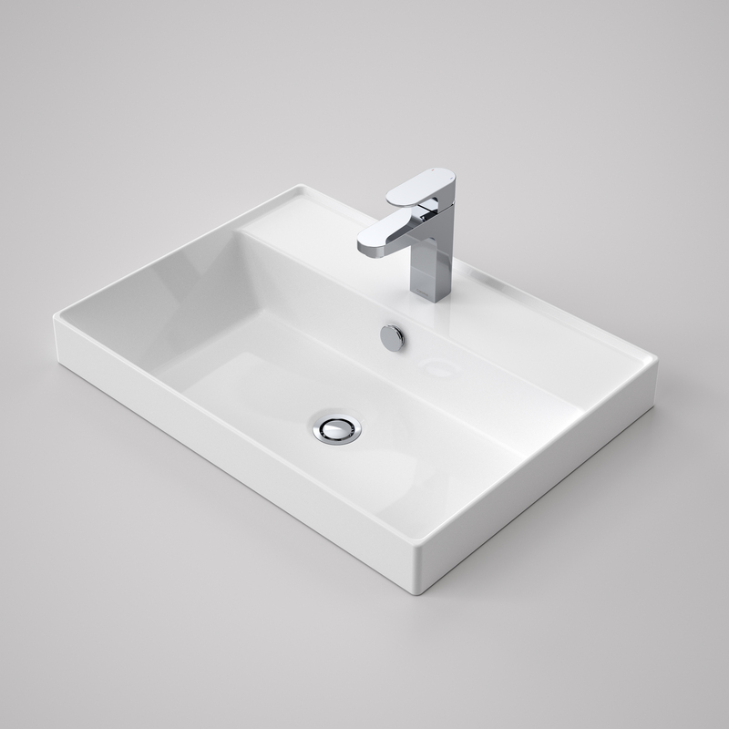 View Photo: Caroma Teo 2.0 600 Inset Basin 1TH