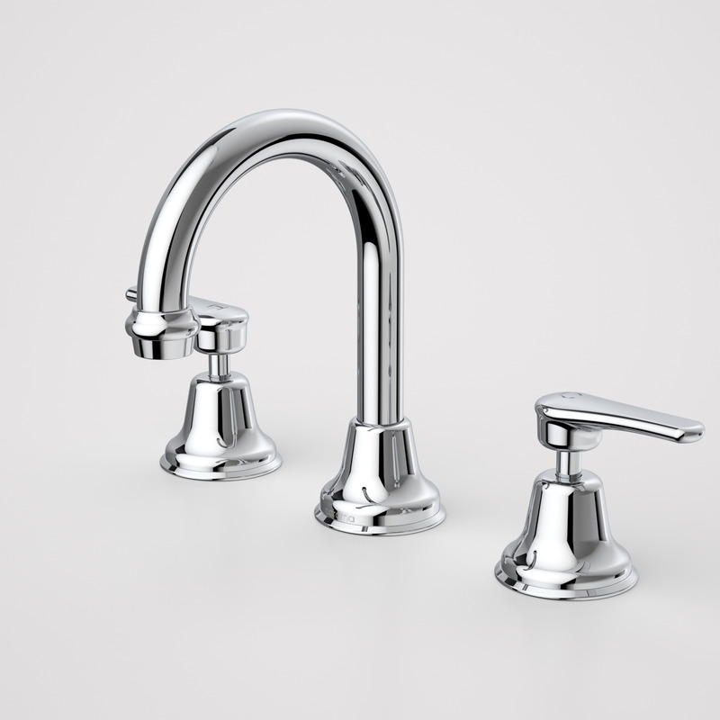 View Photo: Caroma Trident Lever Basin Set