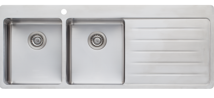 Oliveri Sonetto Double Bowl Inset Sink Photo : Tuck Plumbing ...