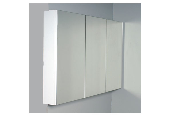 View Photo: Rifco Overlay Multi-door Mirror Shaving Cabinet