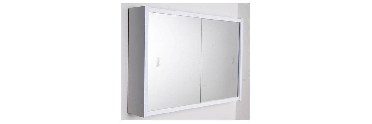 View Photo: Rifco Sliding Door Mirror Shaving Cabinet