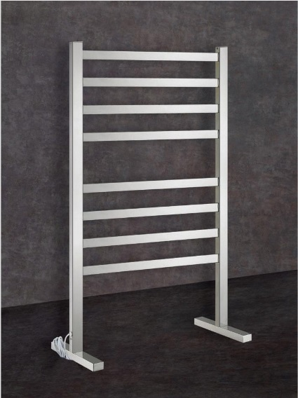 View Photo: Thermorail Square Freestanding Heated Towel Rail FS55E