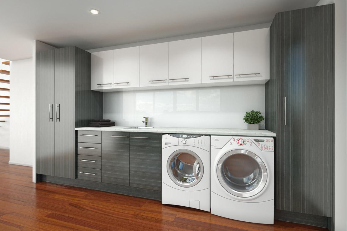 Timberline Modular Laundry System Photo : Tuck Plumbing Fixtures ...
