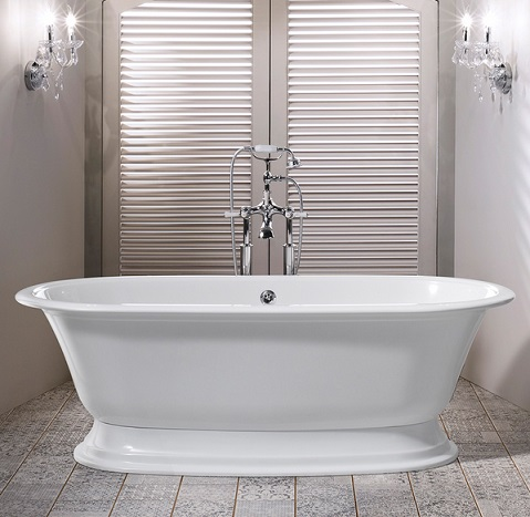Victoria and Albert Elwick Traditional Freestanding Bath