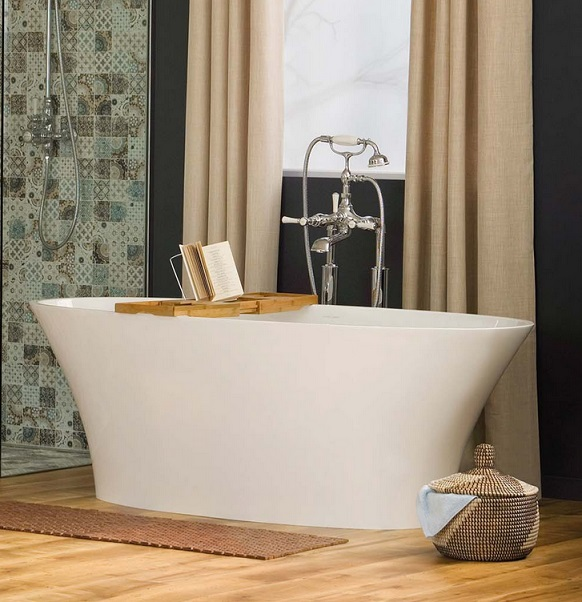 View Photo: Victoria and Albert Ionian Modern Freestanding Bath
