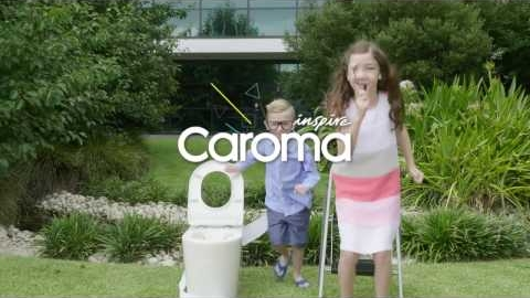 Watch Video : Caroma Liano Junior Toilet Suite - Cleanflush Technology
