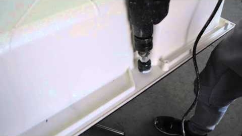 Watch Video : FRANKE How-to: Drilling a tap hole in Tectonite sink