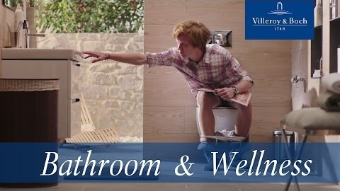 Watch Video: Villeroy & Boch A day in a life of a toilet - new commercial
