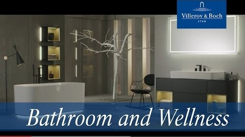 Watch Video: Villeroy & Boch Bathroom collection Finion
