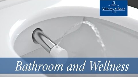Watch Video: Villeroy & Boch ViClean-I 100 - Ingeniously discreet. Refreshingly pleasant