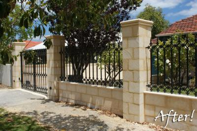 Wrought In The Port Parma Single Gate M X M Pcs Metal