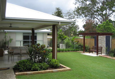Relax in garden style photo utopia landscape design for Garden design queensland