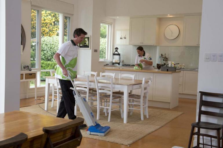 View Photo: Home cleaning team
