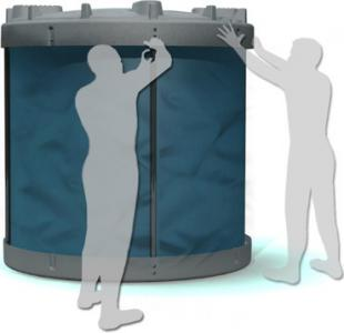 View Photo: Easy to Assemble Collapsible 5000 litre tank