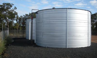 View Photo: Twin bunded Water Panel Tanks