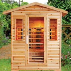 View Photo: Outdoor Infrared Sauna