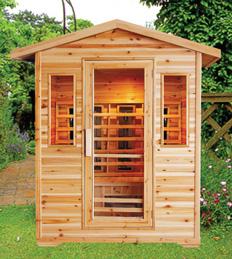 View Photo: Outdoor Infrared Sauna