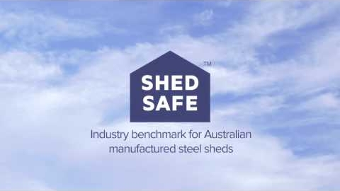 Watch Video : Wide Span Sheds are ShedSafe Accredited