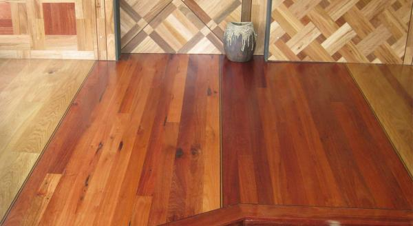 View Photo: Samples of solid strip timber floor