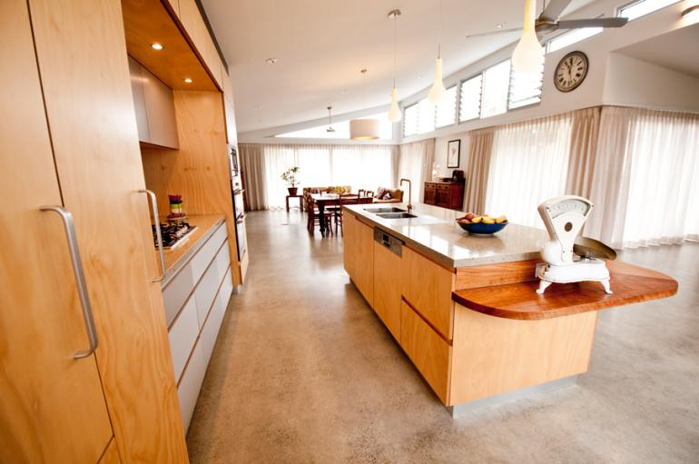 View Photo: Collaroy new house internal view with kitchen
